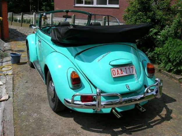 VW-Beetle convertible '69