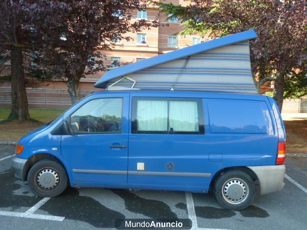 Vendo mercedes vito 110 cdi camper mejor precio for Vendo furgoneta camper