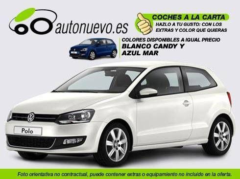 Volkswagen Polo Sport 1.6Tdi 90cv. Blanco ó Negro. Nuevo.Nacional.