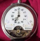 Reloj de bolsillo de plata. Marca Hebdomas - mejor precio | unprecio.es