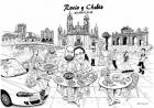 Albert Llort Diseño Photocalls Boda Caricaturas e ilustración personalizada - mejor precio | unprecio.es