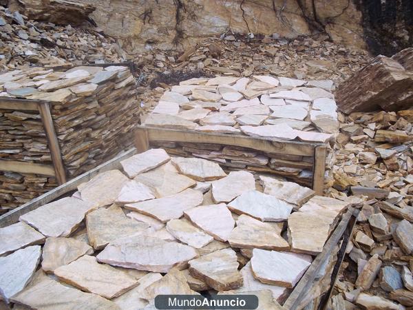 Piedra para fachadas precios lajas de piedra natural for Lajas de piedra natural
