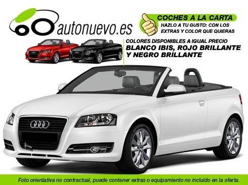 Audi A3 Cabrio 1.2 Tfsi 105cv 6vel. SkyLine. Blanco. Rojo ó Negro Brillante. Nuevo. Nacional.