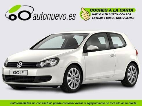 Volkswagen Golf Advance 2.0tdi Dpf 140cv Manual 6vel.. Blanco. Nuevo.Nacional. A la Carta.
