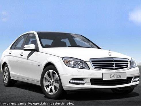 Mercedes Clase C Estate 200CDI BE BlueEfficiency Edition Berlina 170cv. Manual 6vel. Blanco Calcita. Nuevo. Nacional.