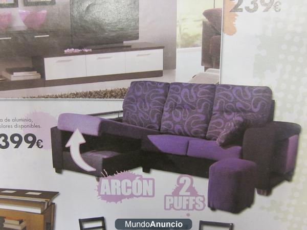 En muebles claudia sofas baratos mejor precio for Muebles sofas baratos