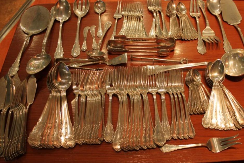 Adquirimos antiguedades en general objetos de plata dinero rapido mejor precio - Cuberterias de plata precios ...