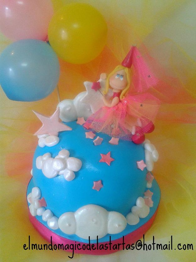 Tartas hadas princesas disney mejor precio for Oficinas disney madrid
