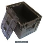 Caja Plastica con Tapadera Solida - mejor precio | unprecio.es