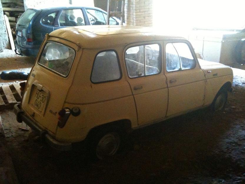 Renault 4 l cl sico para restaurar mejor precio - Clasico para restaurar ...