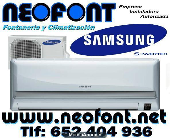Aire acondicionado samsung inverter 3000 frigorias for Aire acondicionado 3500 frigorias inverter
