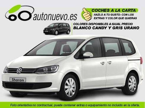 Volkswagen Sharan Edition 2.0Tdi 140cv Dsgl 6vel. Blanco ó Gris Urano. Nuevo.Nacional. A la Carta.