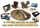 transferimos casettes De Video, audio y discos de vinilo a CD - mejor precio | unprecio.es