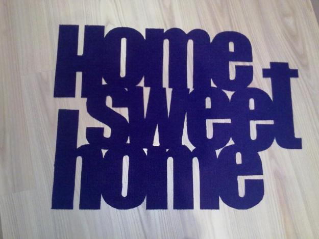 Alfombra Felpudo Home Sweet Home Mejor Precio