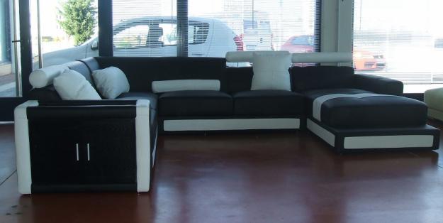 Sofas modulares de piel dise o 363091 for Sofas modulares piel
