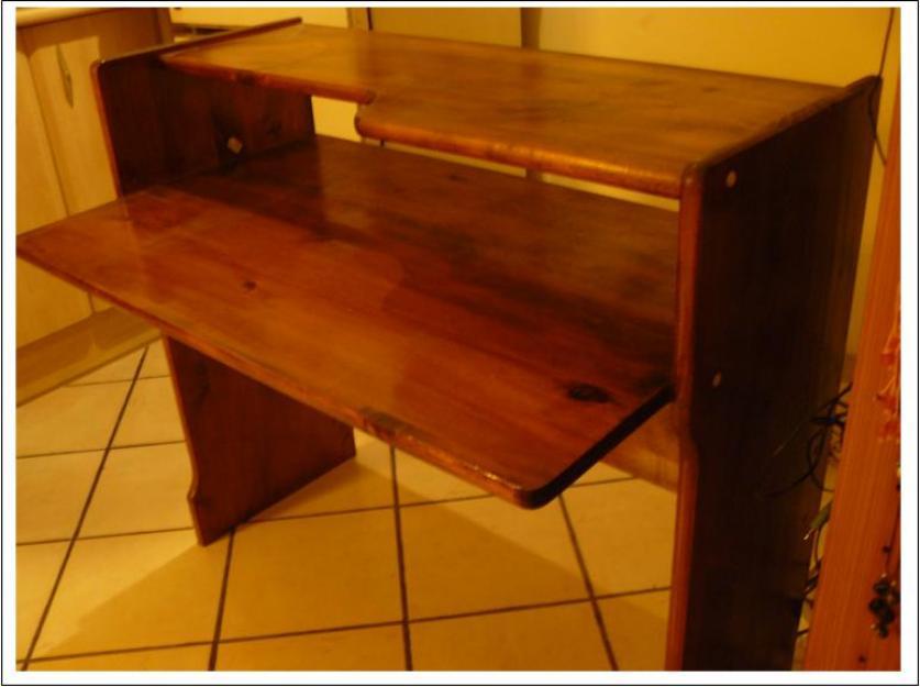 Mesa de ordenador de madera mejor precio - Mesa ordenador madera ...