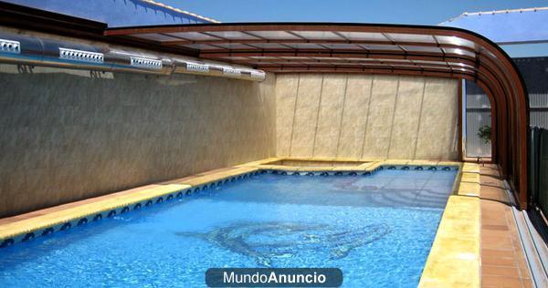 Cerramientos piscinas en madrid y cerramientos especiales for Cubiertas para piscinas madrid