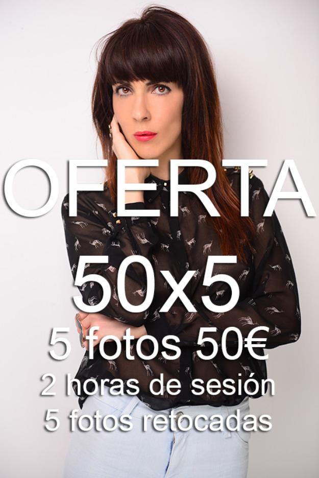 Oferta 50x5 - book 5 fotos por sólo 50€!!