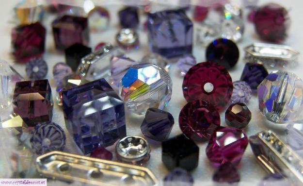 tupies cuentas swarovski 3 , 4 5 mm todos los colores + accesorios