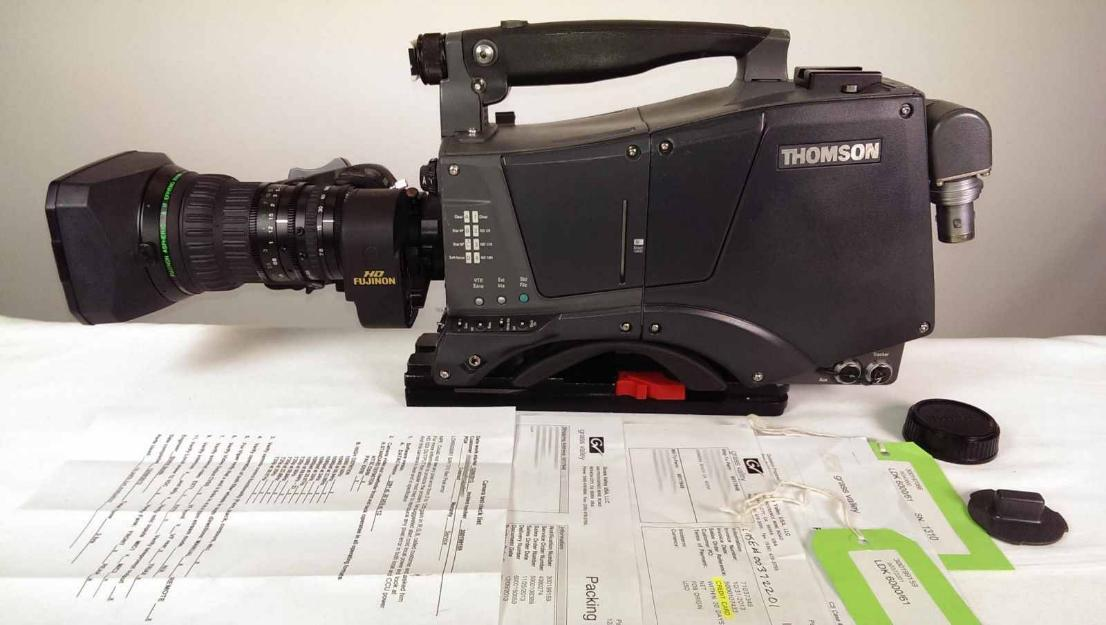 Grass Valley LDK600061 Thomson HD WorldCam 1080p 720p Multi Format Triax