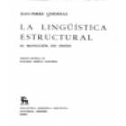 La lingüística estructural. --- Ed. Gredos, 1976, Madrid. - mejor precio   unprecio.es