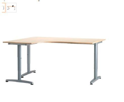 Mesa de despacho seminueva mejor precio for Mesa despacho ikea