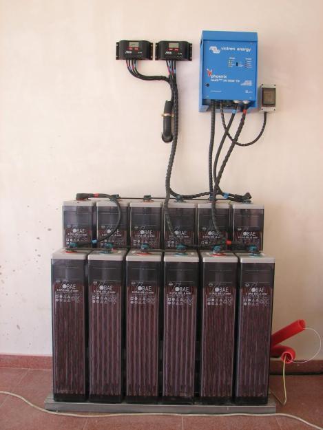 Energ a solar placas solares bater as maximizadores for Baterias placas solares
