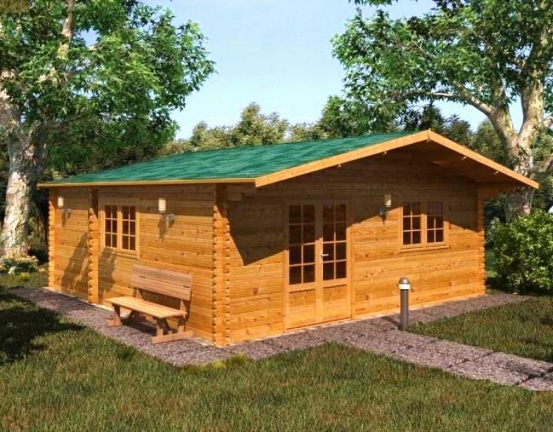 Casas de madera casa de madera buckanan mejor precio - Casas de madera alcorcon ...