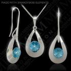 Set exclusivo de plata 925/1000 con Swarovski elements JoyasBohemia - mejor precio | unprecio.es
