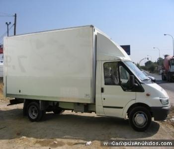 ford transit 3.500 kg con tarjeta de transporte nacional