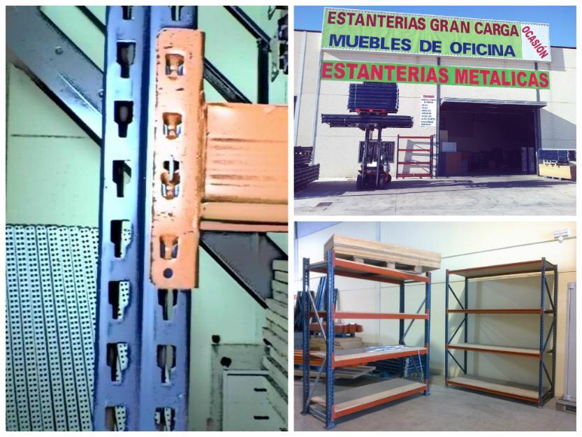 Estanterias metalicas para palet y media carga mejor precio - Estanterias metalicas precio ...
