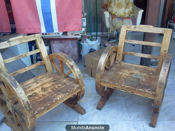 Se venden sillas de madera r sticas mejor precio for Sillas de madera precios
